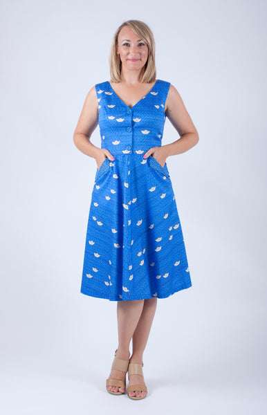 Lily from Slow Down Style in a Maiocchi Dress