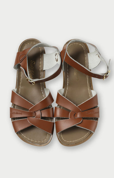 Saltwater Sandals in Tan