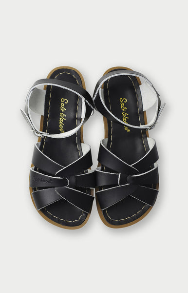 Saltwater Sandals in Black