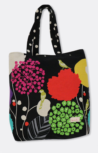 reversible tote in bird