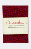 maiocchi tea towel in ruby wild