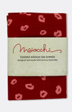 maiocchi tea towel in ruby lips
