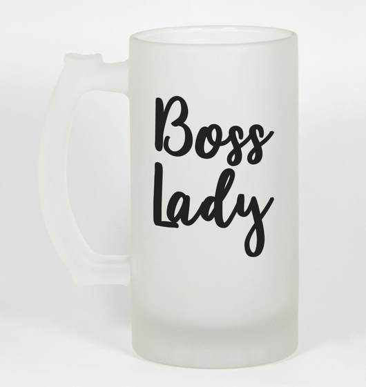 Beer Mugs For Boss Lady Perfect Christmas Gift For Her