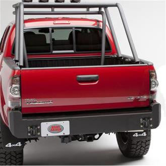 2005-2015 Toyota Tacoma Rear Bumper in Black Powder Coat