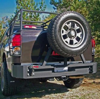 Rear bumper for the 2007-2013 Toyota Tundra