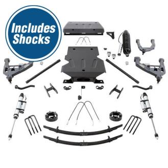 Pro Comp 4 Inch Pro Runner Long Travel Lift Kit with Shocks Toyota Tundra
