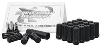 6 Lug Kit 12X1.5 Spline Lug Kit - Black
