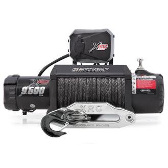 Smittybilt XRC-9.5K Winch Synthetic Rope Gen2, With Aluminum Fairlead