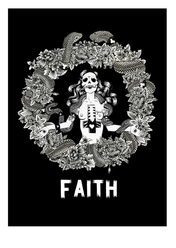 FAITH- Screenprinted Poster