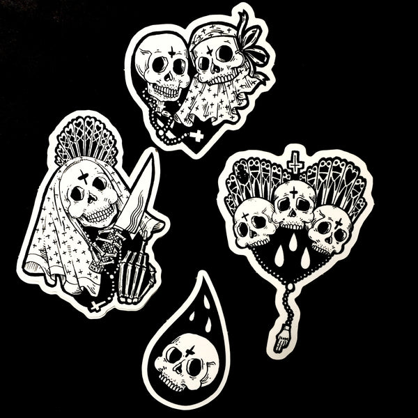 Skulls- Sticker pack