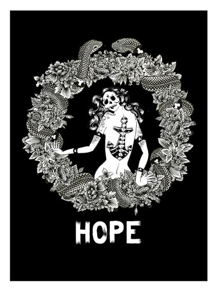 HOPE - Screenprinted Poster