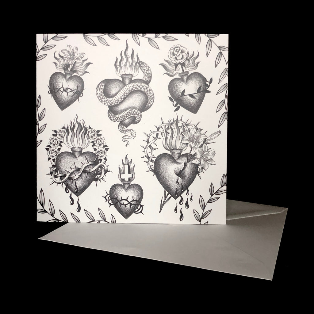 Sacred Heart- Greeting Card