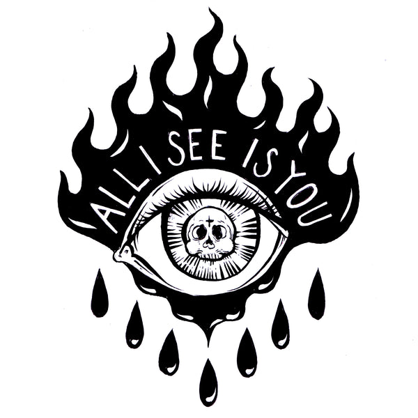 All i see - Signed Art Print