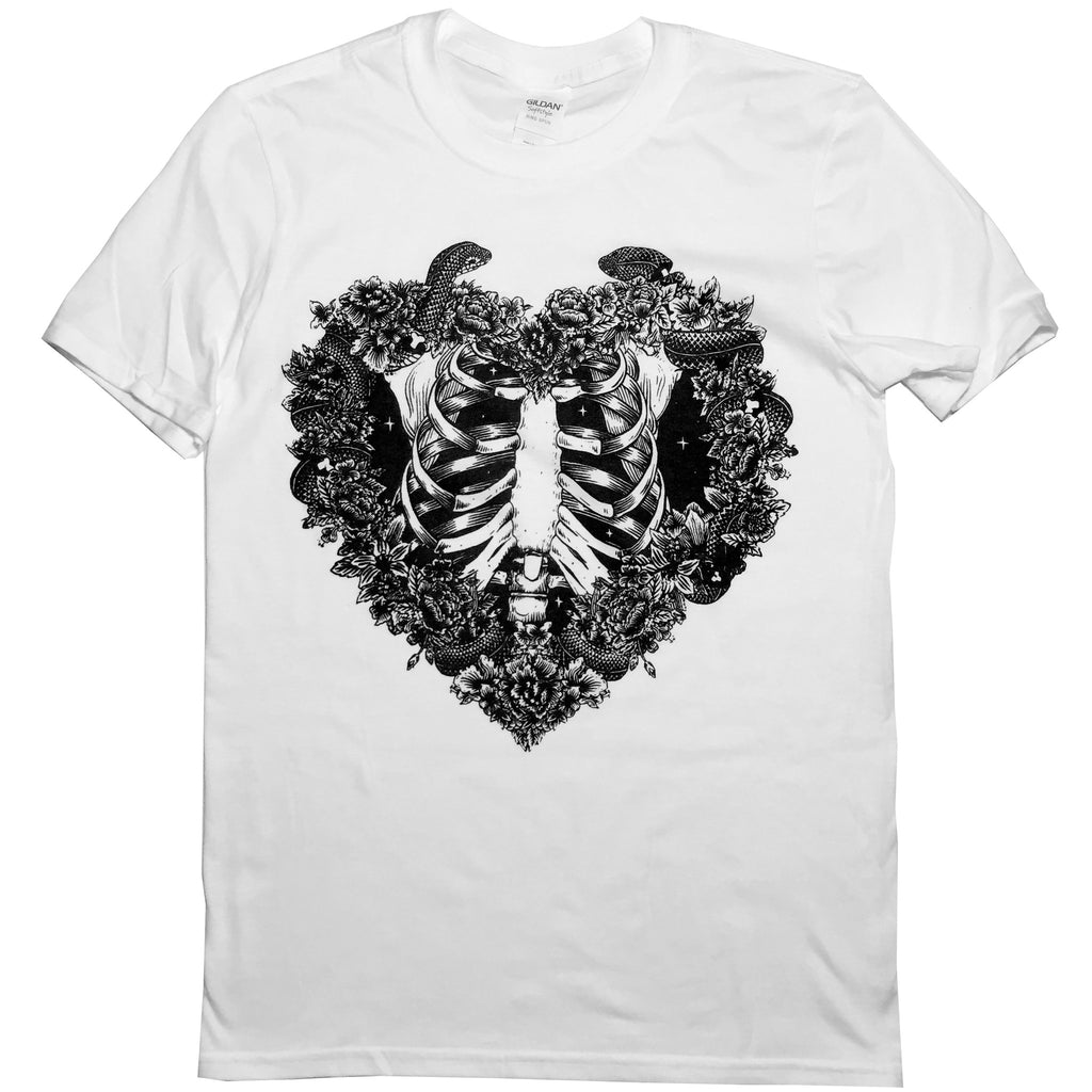 Heart wreath- Unisex T-Shirt- Misprint