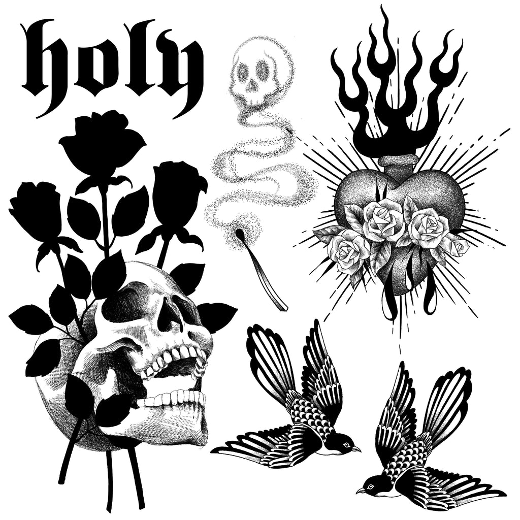 Holy- Flash Print