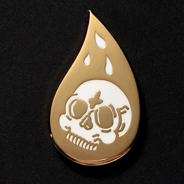 Skull Tears - Hard Enamel Pin
