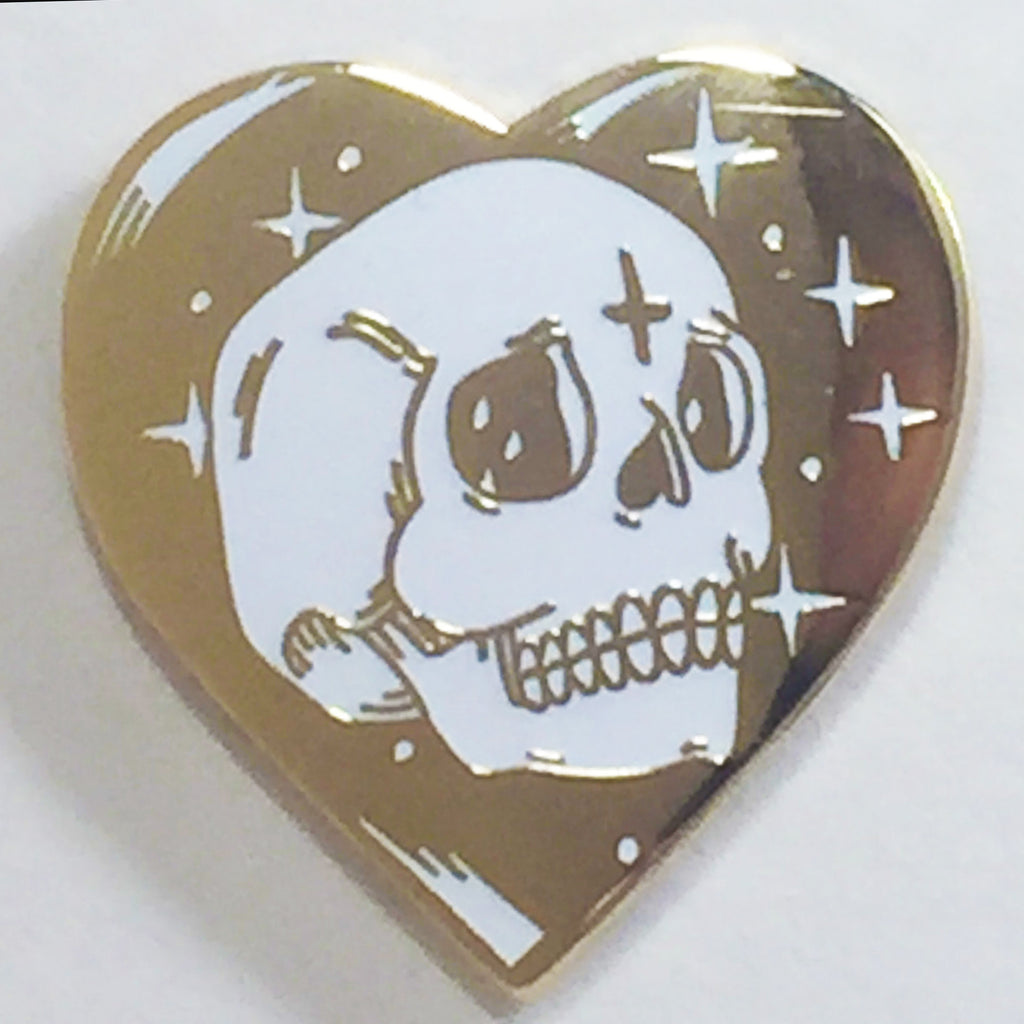 Skull Love - Hard Enamel Pin