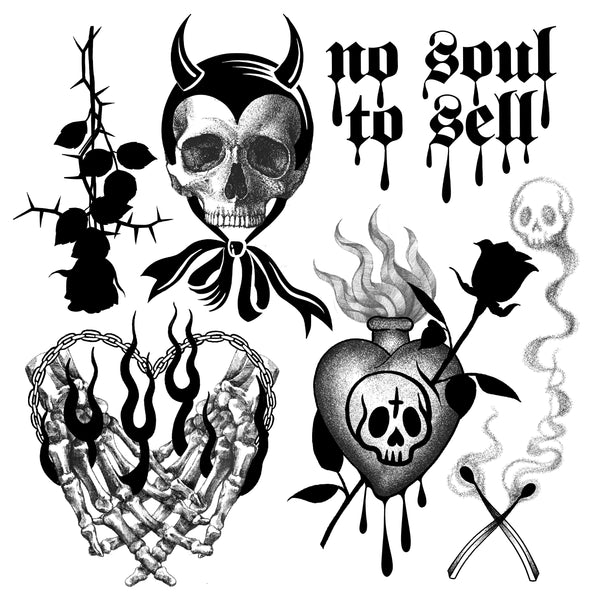 No Soul - Flash Print