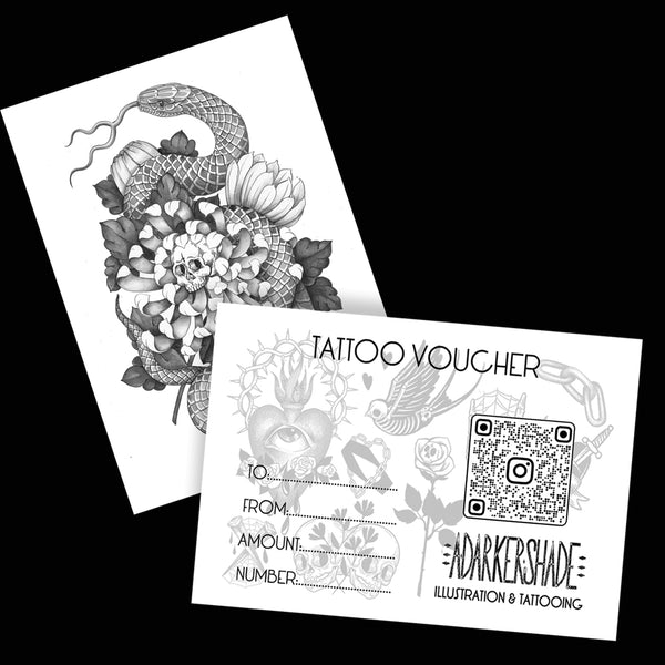 TATTOO VOUCHERS