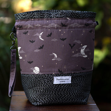 We Only Come Out at Night, DRAWSTRING PROJECT BAG