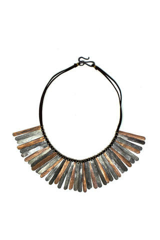 Gladiator snare necklace