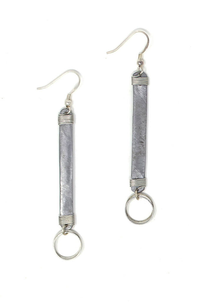Original snare earrings