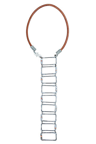 Ladder snare necklace