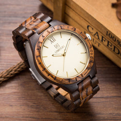 UWOOD Classic Men's Wooden Watch