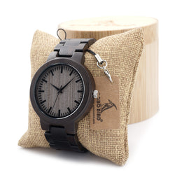 BOBO Bird Maple Wood Link Watch