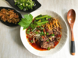 March 2019: Sichuan beef noodle soup and other new recipes