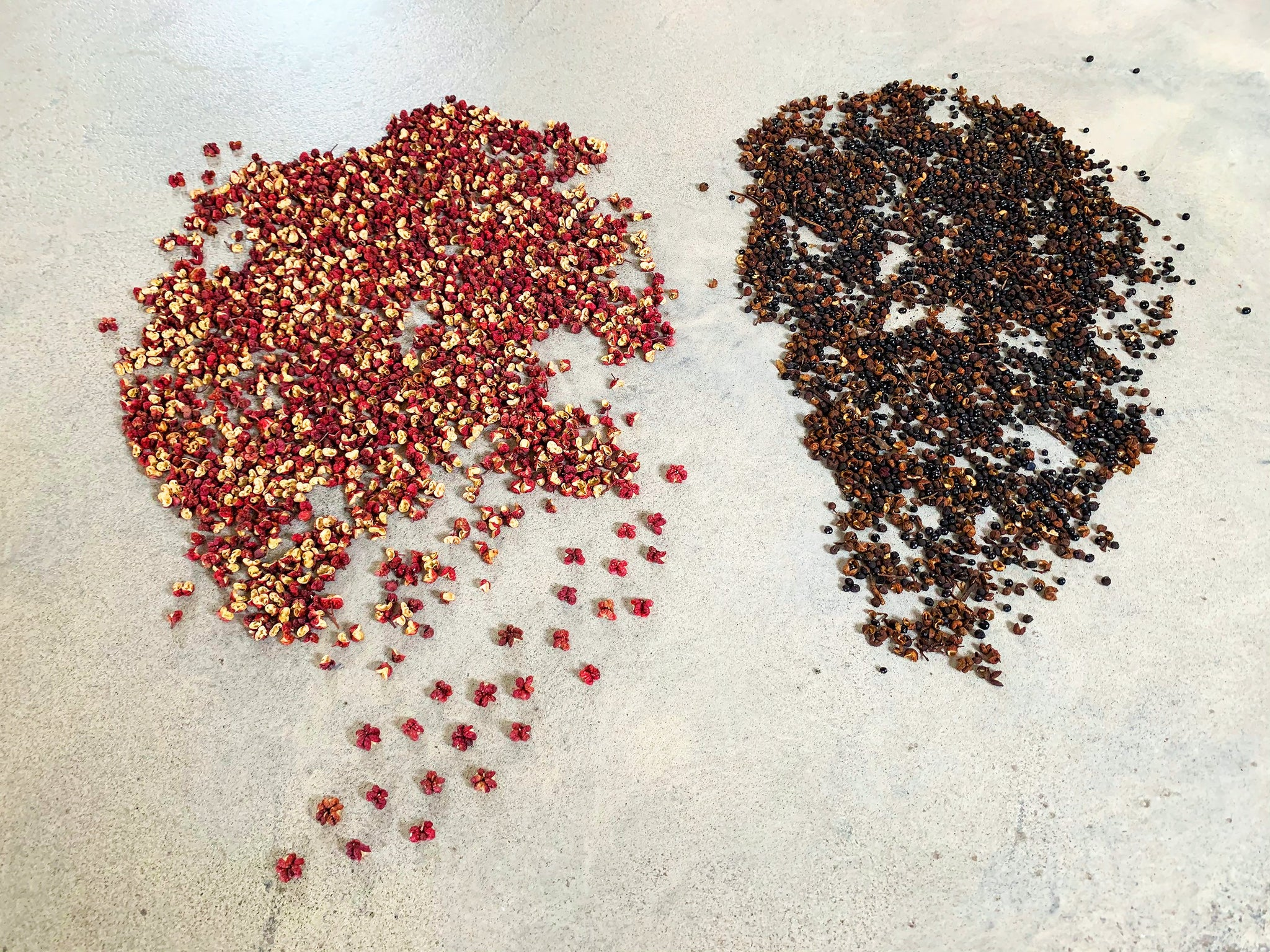 Sichuan Flower Pepper and supermarket Sichuan pepper