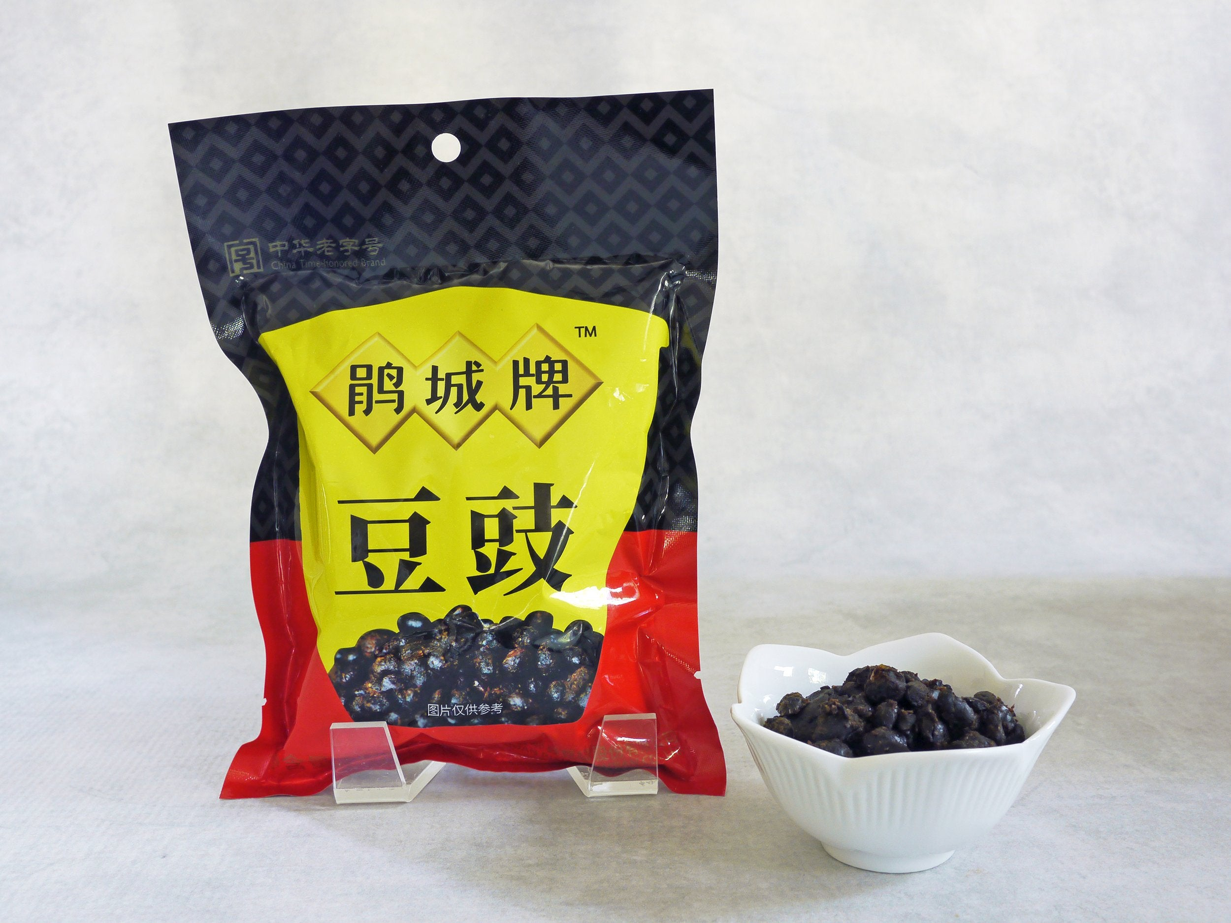 Sichuan Fermented Black Beans (Preserved Soybeans, Douchi)