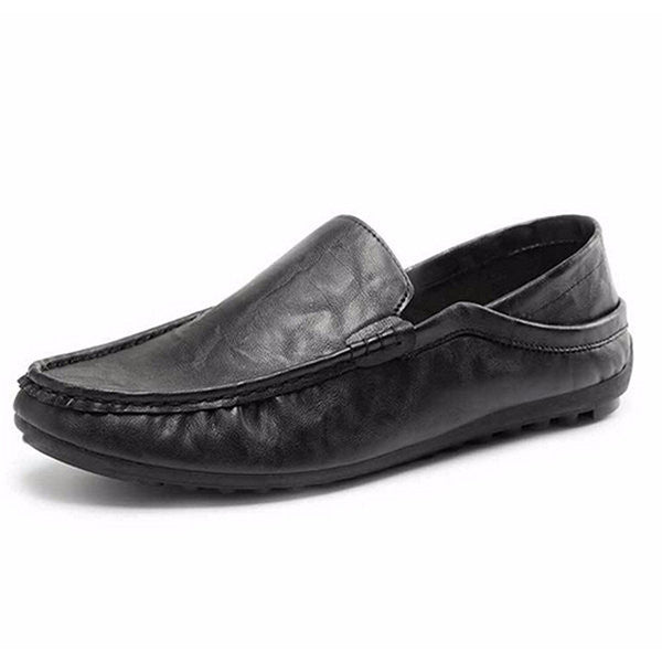 Leather Casual Soft Comfortable Flats Shoes-Shoes-Shopangy.com