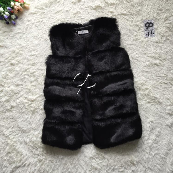 New Design Fashion Winter Women Fur Vest-Shopangy.com