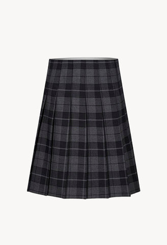 WINS Plaid Pleated Skirt