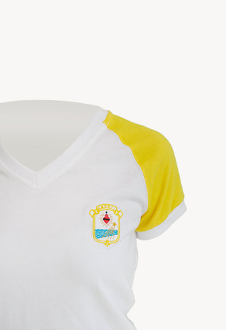 MC T-Shirt Scollo V | Divise Scolastiche | Happy Schoolwear