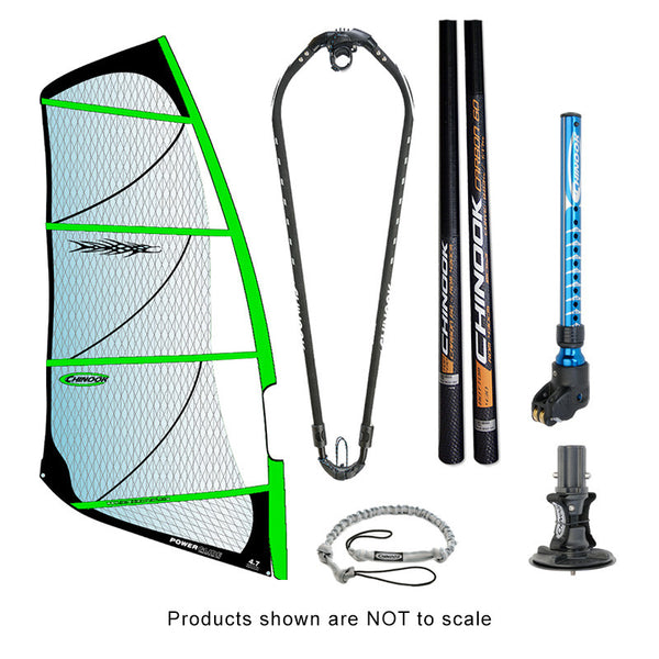 POWER GLIDE  60% RDM CARBON MAST