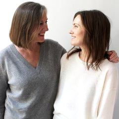 Susan and daughter Catherine | Owners of White + Warren