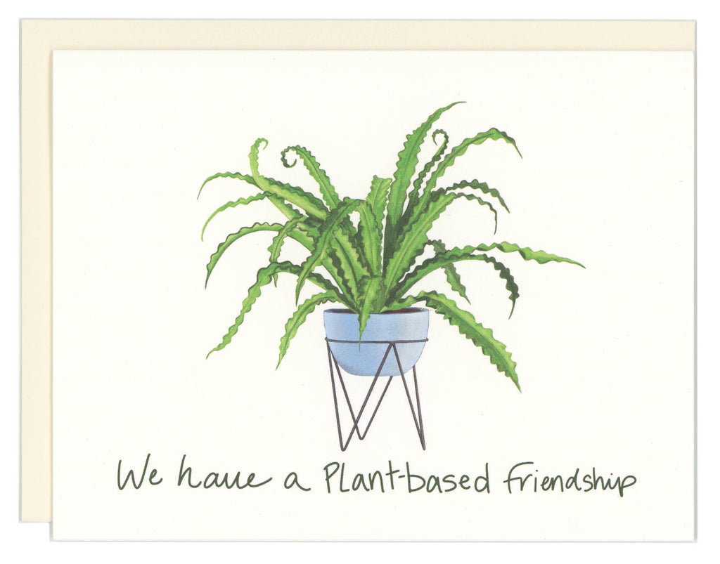 Good Postage - Plant-based Friendship Greeting Card