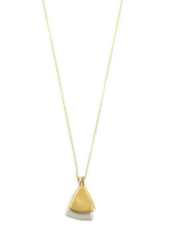 Philippa Roberts | Double Small Leaf Necklace