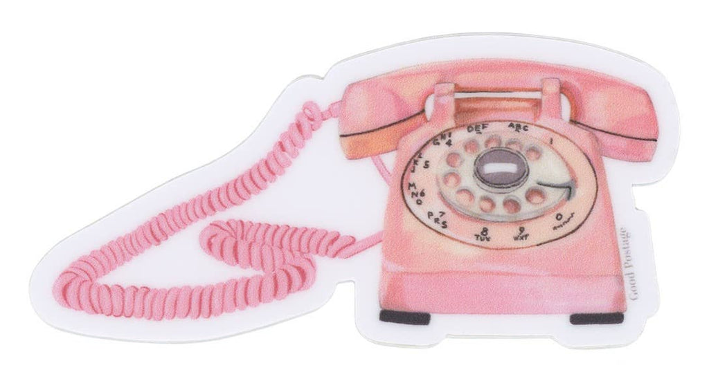 Good Postage - Retro Phone Sticker