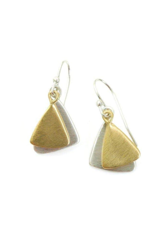 Philippa Roberts | Double Small Leaf Earrings