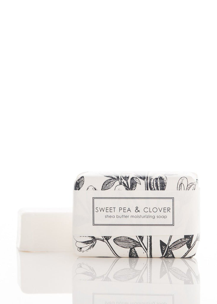 Sweet Pea & Clover Bath Bar