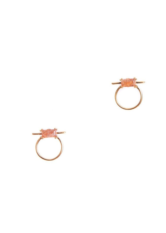 Antigua Earrings | Sunstone
