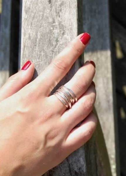 Bound | 5 Strand Sterling Silver Ring