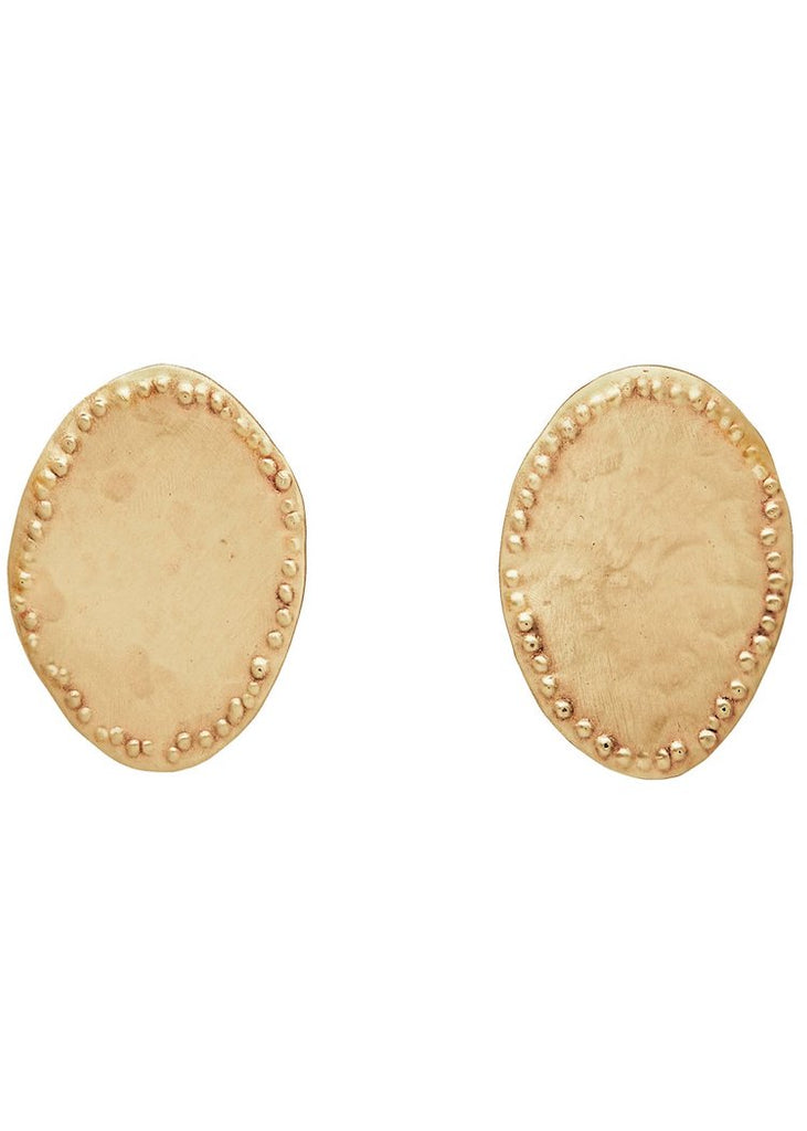 Julie Cohn Design | Discus Bronze Earring