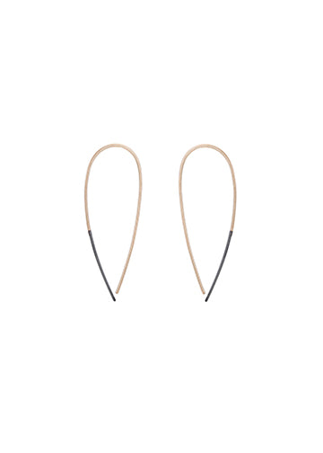 Teardrop Earring | OX and Gold
