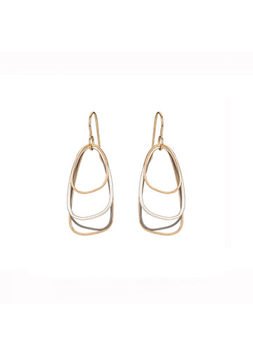 Colleen Mauer | Multi-Triangle Earring