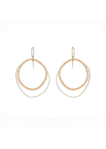 Double Rounded Earring