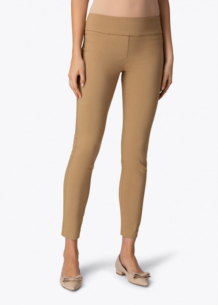 Elliott Lauren | Classic Pant Pull-On Ankle Pant | Latte